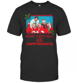 NSYNC Merry Christmas And Happy Holidays T-Shirt