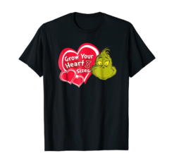 Dr. Seuss Grinch Grow Your Heart T-shirt
