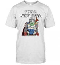 Star Wars Darth Vader Yoda Best Dad Happy Father'S Day T-Shirt